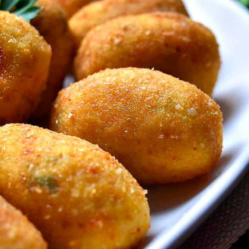 Receta de croquetas con queso Casín