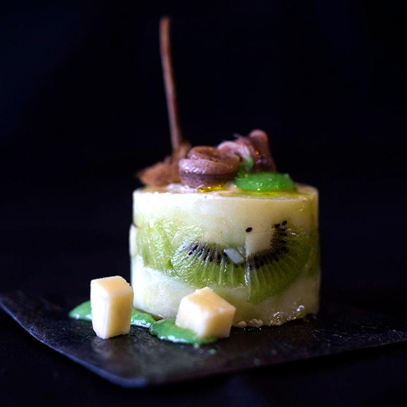 receta de ensaladilla asturiana con queso gamoneu